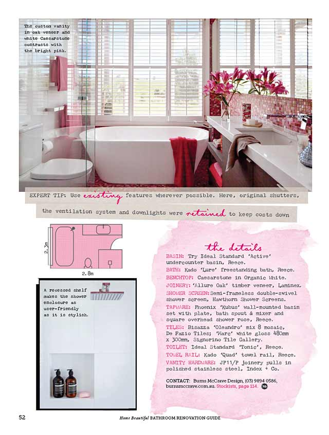 Bathroom Layout Design Details